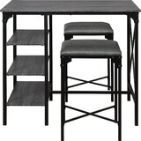 Zarmayr Branberry 3 piece Counter Height Dining Set by Gracie Oaks