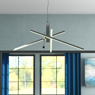 Wade Logan Dublin 4 Arm LED Chandelier