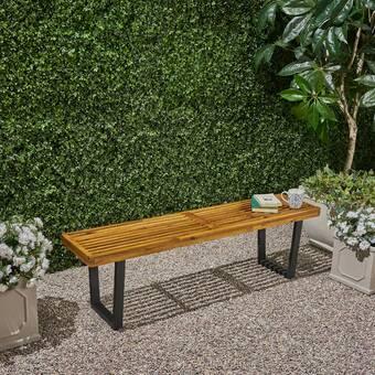 Tremendous Union Rustic Outdoor Wooden Picnic Bench Reviews Wayfair Ibusinesslaw Wood Chair Design Ideas Ibusinesslaworg