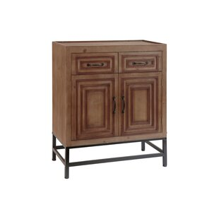 Adalynn Wood 2 Door Accent Cabinet by Millwood Pines