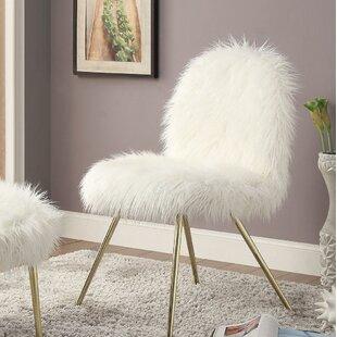 Everly Quinn Ridley Slipper Chair