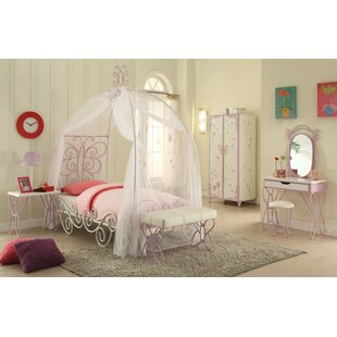 Kimes Full Canopy Bed. by Zoomie Kids  sc 1 st  Wayfair & Full Size Kids Canopy Bed | Wayfair