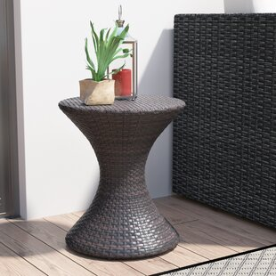 Where buy  Allman Outdoor End Table By Winston Porter