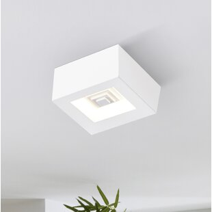 Oviedo 1-Light LED Flush Mount By Orren Ellis