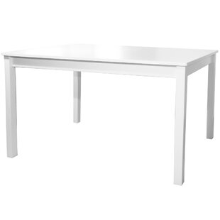 Jocelyn Single Solid Wood Dinner Table by Red Barrel Studio Spacial Price