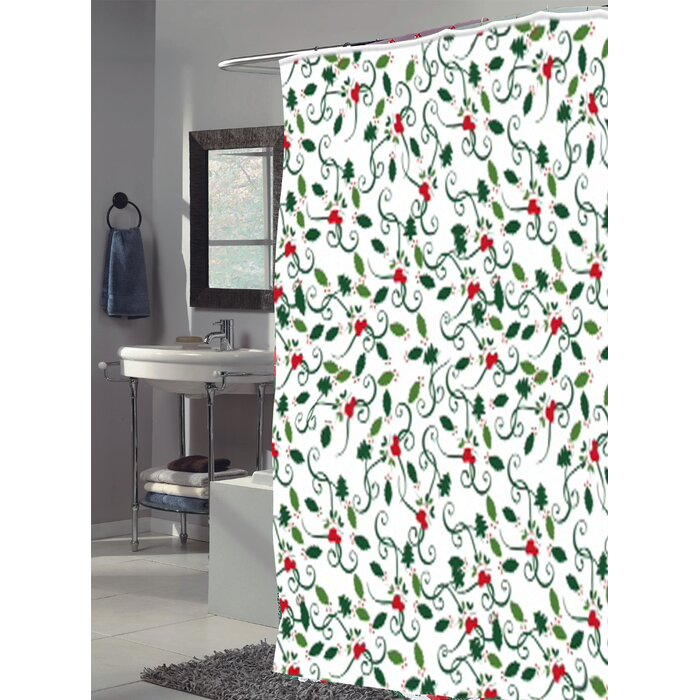 Deck The Halls Single Shower Curtain