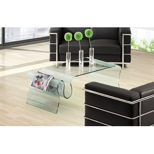 Sergent Glass Coffee Table