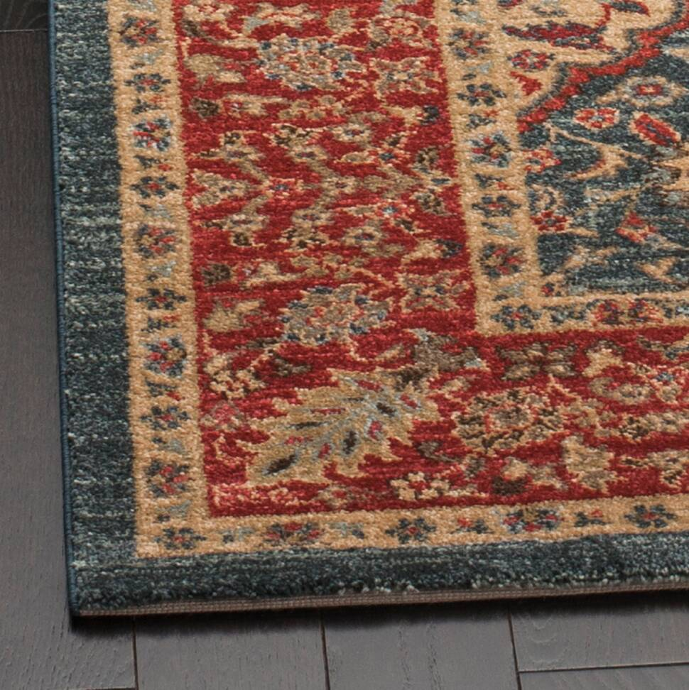 Astoria Grand Pennypacker Red Blue Area Rug Reviews Wayfair