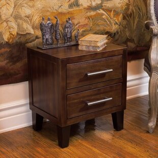 Davisson 2 Drawer Nightstand by Alcott Hill
