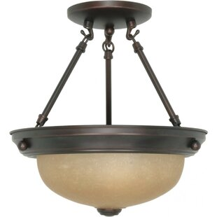 Fleur De Lis Living Juliette Semi Flush Mount