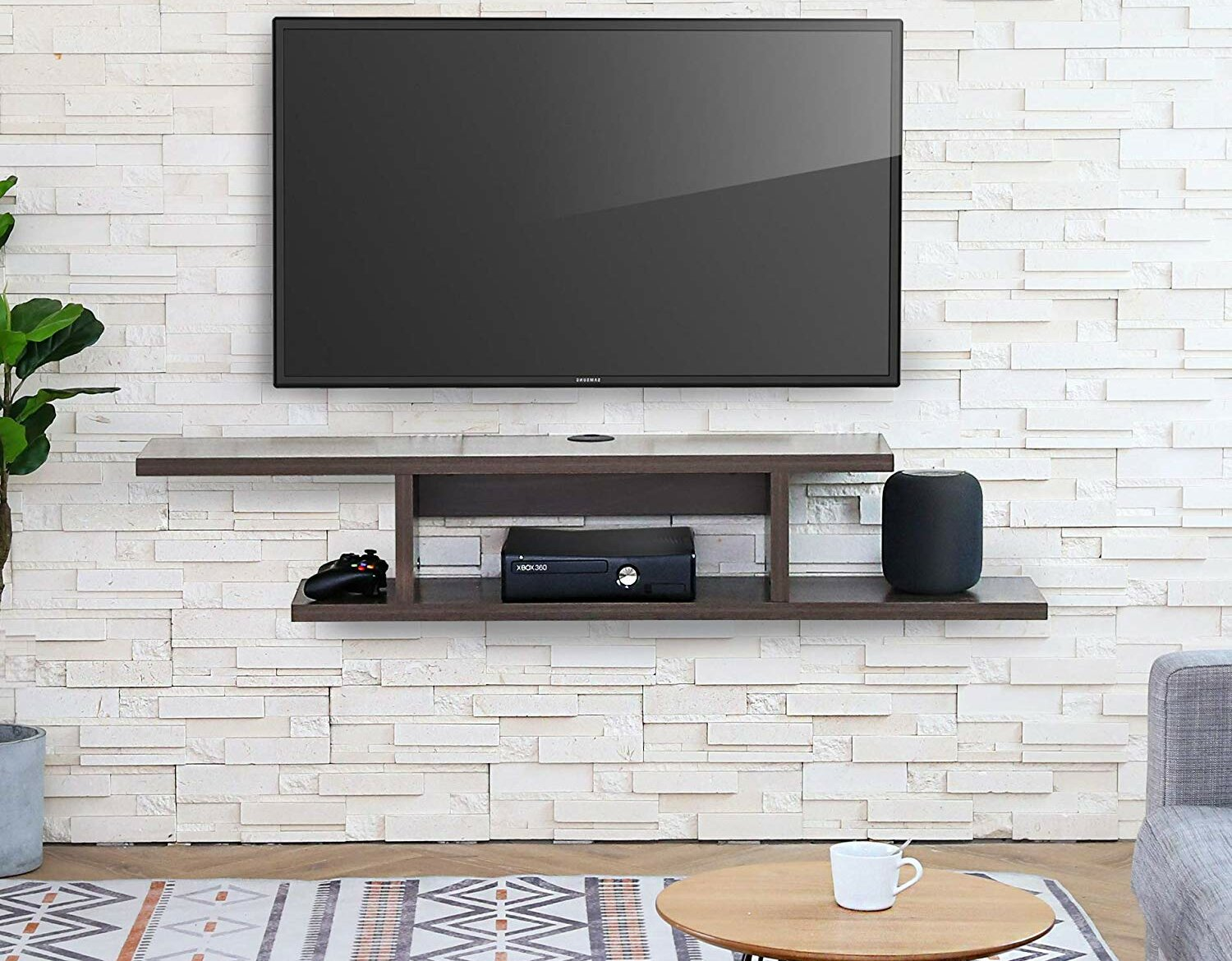 brayden studio kriston floating tv stand for tvs up to 58 w