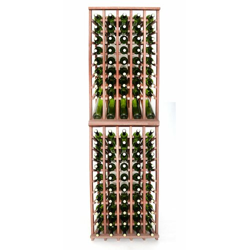 Rebrilliant Lurmont Series 240 Bottle Floor Wine Bottle Rack Wayfair