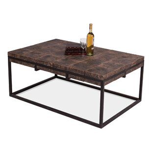 Wooden Blocks Coffee Table