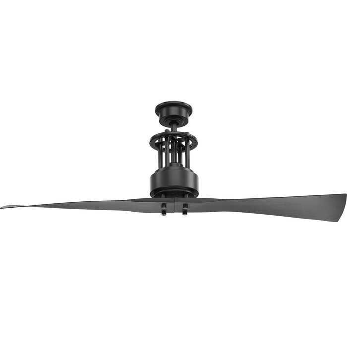 56 Hilyard 2 Blade Ceiling Fan With Remote