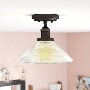 Charlotte 1-Light Semi Flush M..