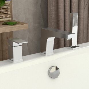 ANZZI Single Handle Deck Mount Roman Bath..