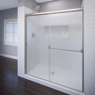 Classic 47 x 70 Bypass Semi-Frameless Shower Door ByBasco