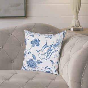 Cecilia Traditional Bird Throw Pillow