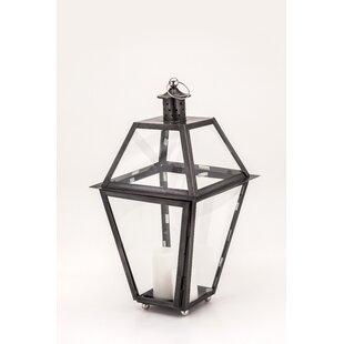New Port Zinc Lantern by Fashion N You by Horizon Interseas