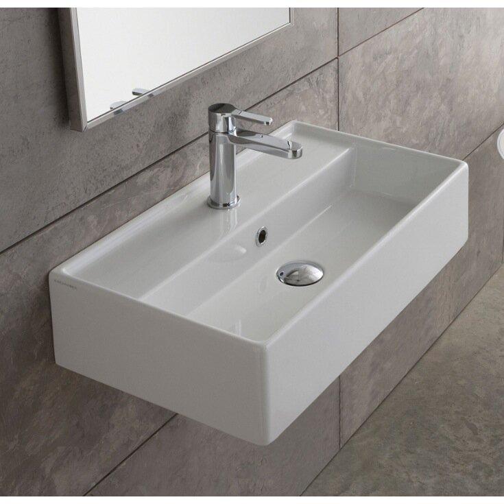 Wall Mount Bathroom Sinks Part Scarabeo 5001 Sku Sbe1244 Default Name