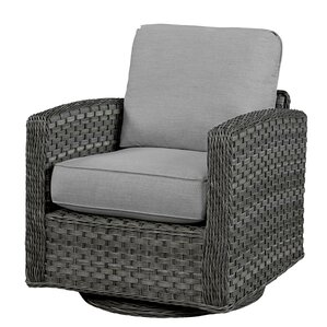 Swivel Glider Chair With Cushion