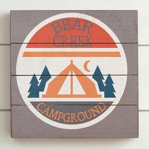 Camp Bear Creek Wall Art