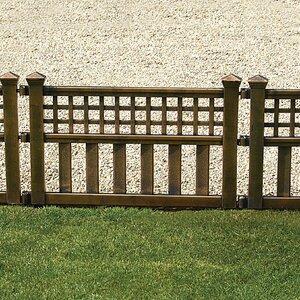 Plastic Fence Panel (Set of 4)