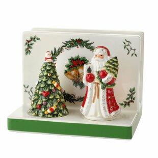 Christmas Tree Nakin Holder Salt and Pepper