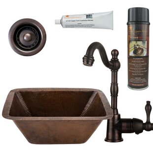 17 X 12 Bar Sink With Faucet