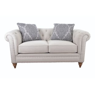 Downsview Chesterfield Loveseat by Craftm..