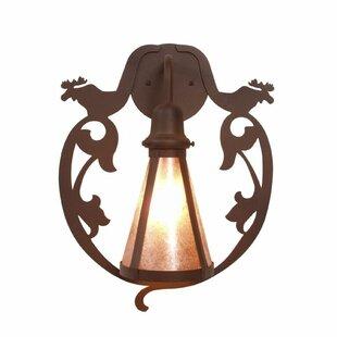 Bavarian 1-Light Outdoor Wall lantern by ..