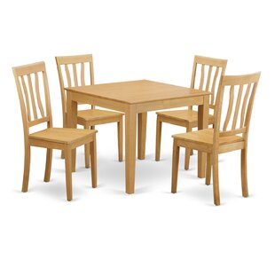 Oxford 5 Piece Dining Set Wooden Importers