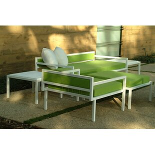 Talt Seating Group with Cushions by Modern Outdoor