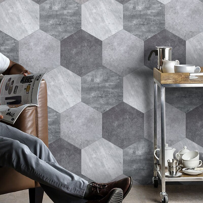 domini 10 x 10 stone composite peel stick field tile