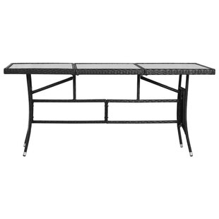 Rattan Dining Table By Sol 72 Outdoor