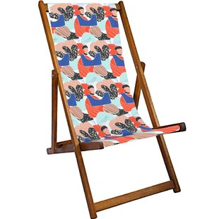 Faye Reclining Deck Chair By Sol 72 Outdoor