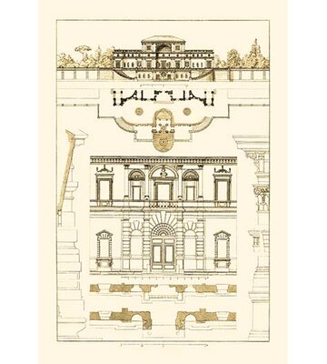 Villa Sacchetti Villa Papa Giulio At Rome By J Buhlmann Graphic Art Buyenlarge