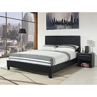Pleasant Upholstered Platform Bed by Zipcode Design