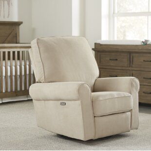 Nilda Swivel Reclining Glider