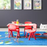 "5 Piece Rectangle Activity Table & 10.5"" Chair Set"