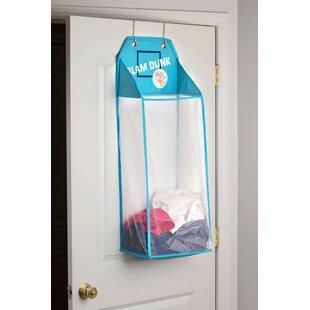 Savings Sports Toss over the Door Hamper with Flashing Lights ByZoomie Kids
