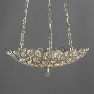 House of Hampton Rhode 3-Light Bowl Pendant