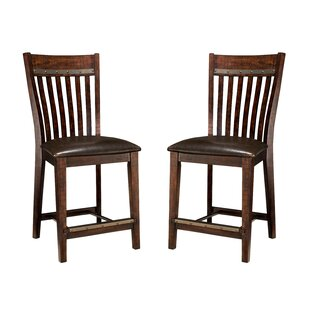 Whisenant 24 Bar Stool (Set of 2) Millwood Pines