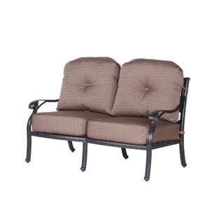 Darby Home Co Germano High Back Loveseat with Cushions