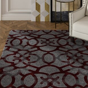 Delanie Red Area Rug by Mercer41