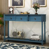 Ainsworth 51.57'' Solid Wood Console Table by Longshore Tides
