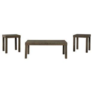 Wrought Studio Makayla 3 Piece Coffee Table Set