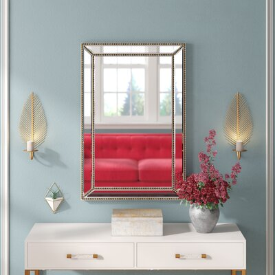 Large Amp Oversized Nickel Mirrors You Ll Love In 2019 Wayfair