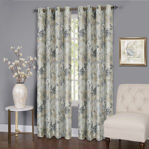 genevrier lined blackout thermal single curtain panel