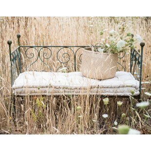 Slaugh Heavily Distressed Metal Twin Daybed with Mattress